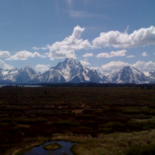 Very grand tetons